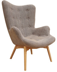 Grant Featherston Replica Lounge Chair in Beige