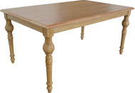 Rectangular 6S Bistro Table in Natural