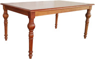 Rectangular 6S Bistro Table in Brown