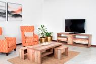 Natad Entertainment Unit + 3Pc Coffee table Set