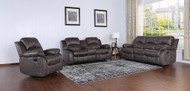 Veria 6 Seater Recliner in  Smoke Gray J145