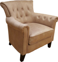 Mayfair Accent Chair In Crème Brulee