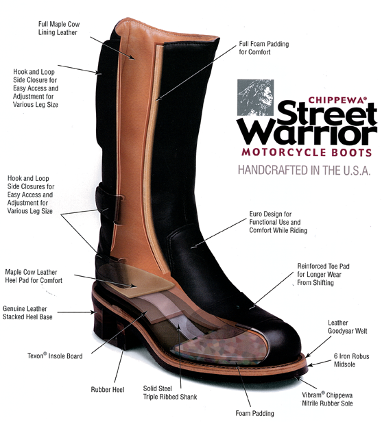 Chippewa Street Warrior Boots