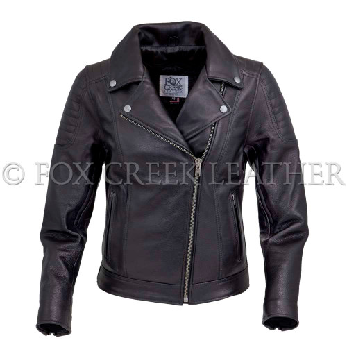 Classic Ribbed Motorcycle Jacket