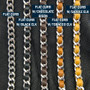Curb Chain Options