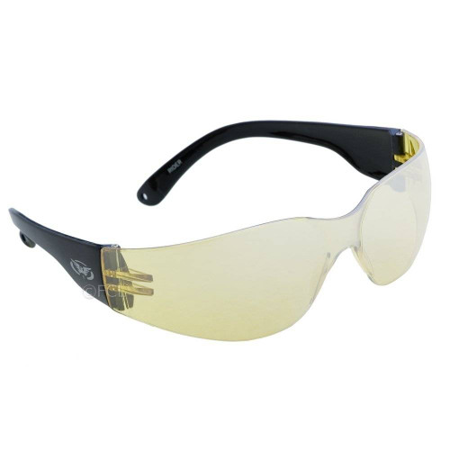 Rider Sunglasses with Yellow Mirror Lenses.