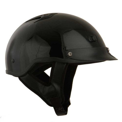 Side view of the Vented Half Shell Helmet.