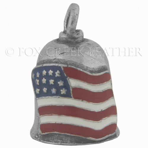 Gremlin bells fox creek leather american flag gremlin bell sciox Image collections