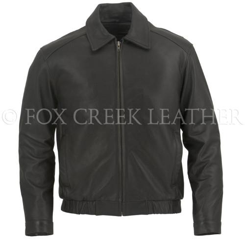 Leather Flight Jacket