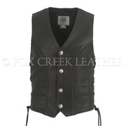 Men's Semi-Perforated Full Back Vest