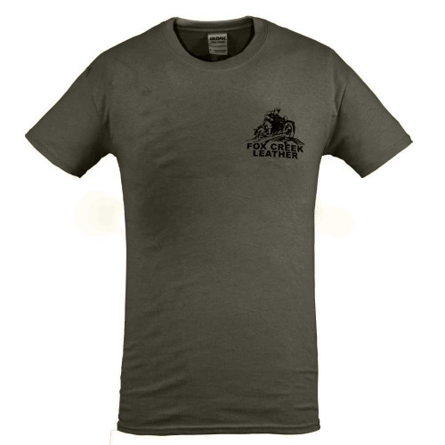 Fox Creek Classic Design Tshirt - Olive