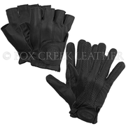 Gel Palm Gloves - Perf or Solid - Full or Half Finger