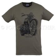 Fox Creek Classic Design Tshirt - Olive