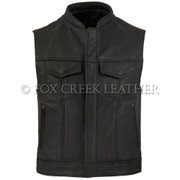 Leather Rebel Vest - Size 50 (Clearance 230)