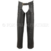 Build Your Own Leather Chaps - Size L (Clearance 121)