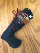 Leather Christmas Stocking