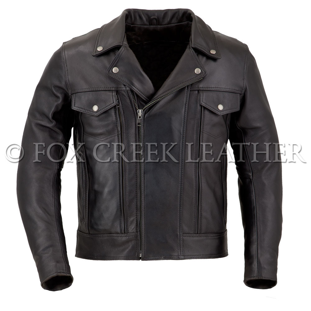 Leather jacket for motorcycle riding - Men S Drifter Leather Motorcycle Jacket