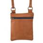 Buffalo Leather Zip Top Purse