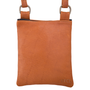 Buffalo Leather Zip Top Purse Back