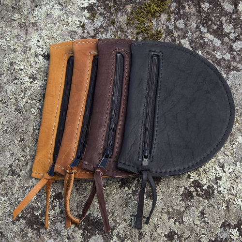 Choose from 4 beautiful shades of American Bison (Buffalo) leather.