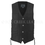 Men's Full Back Buffalo Nickel Vest, Size 42 - Clearance #276