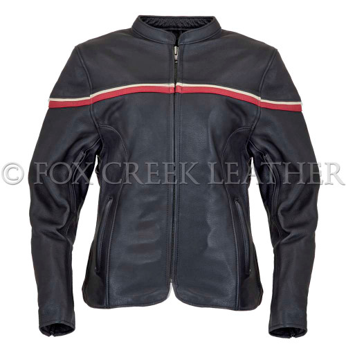 Women's Striped Racing Jacket