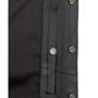 Inside gun pocket snaps closed