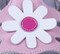 Pink Genuine Leather Sandal Flower.