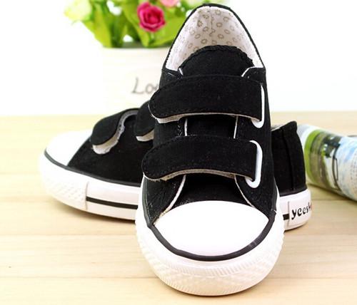 Black Canvas shoe.