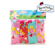 Ben & Holly 4 Pack Girls Underwear