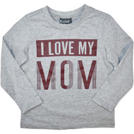 "Boys Long Sleeve Top - ""I Love My MOM"""