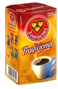 Box of 3 Coracoes Traditional (10 x 17.6oz) Brazilian Coffee