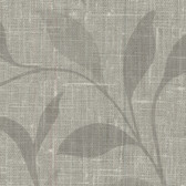 Contemporary Beyond Basics Flora Leaves Fossil Grey Wallpaper 420-87132