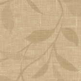 Contemporary Beyond Basics Flora Leaves Gold Wallpaper 420-87134