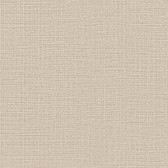 Contemporary Beyond Basics Cotton Texture Champagne Wallpaper 420-87155