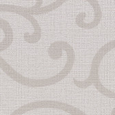 Contemporary Beyond Basics Silhouette Vine Silver Wallpaper 420-87159