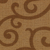 Contemporary Beyond Basics Silhouette Vine Caramel Wallpaper 420-87161