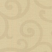 Contemporary Beyond Basics Silhouette Vine Oat Wallpaper 420-87162