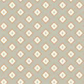 GE3616- Ashford House Geometrics Moroccan Spot Orange-Grey Wallpaper