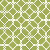 GE3629- Ashford House Geometrics Threaded Links Green Wallpaper