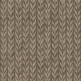 GE3708-Ashford Geometrics Graphic Knit Brown Wallpaper