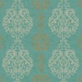WB5432- Damask Stripe