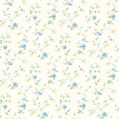 Carla Spring Bloom Trail Azure Wallpaper BBC21561