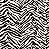 Mia Faux Zebra Stripes Black-White Wallpaper BBC95503