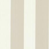 Bradford Hudson Broad Stripe Eggshell-Taupe Wallpaper 492-2301