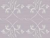 Brilliance April Acanthus Lattice Mauve Wallpaper BRL980117