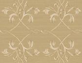 Brilliance April Acanthus Lattice Flaxen Wallpaper BRL98012