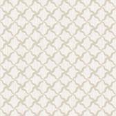 Brilliance Alexi Ornate Criss Cross Ivory Wallpaper BRL98049