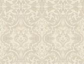 Brilliance Guinevere Baroque Marquetry Bone Wallpaper BRL98051