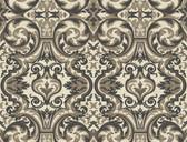 Brilliance Guinevere Baroque Marquetry Ebony Wallpaper BRL980512